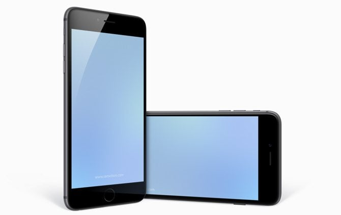 Free iPhone 6 PLUS Templates