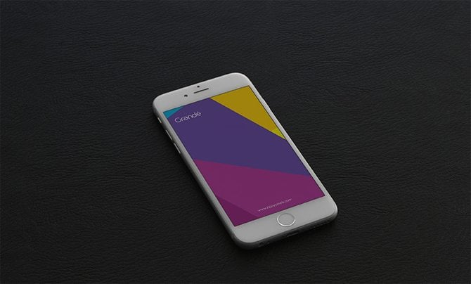 iPhone 6 Photorealistic PSD Mockups