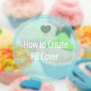 Web Design Kitchen. Tasty Facebook Cover Tutorial