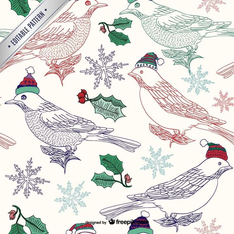 free christmas editable  patterns