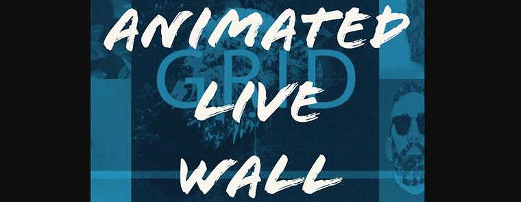 ANIMATED LIVE WALL WordPress Plugin
