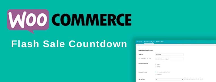 WooCommerce Flash Sale Countdown WordPress Plugin