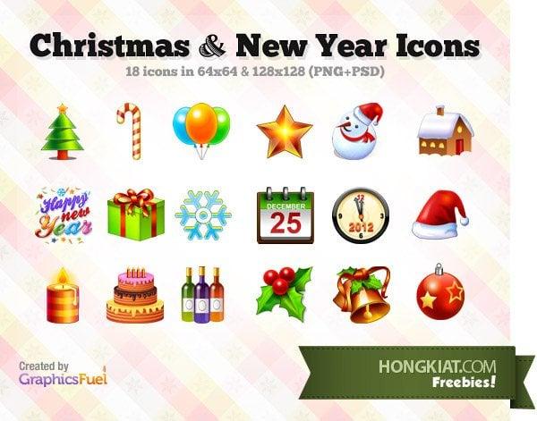 freebie-christmas-new-year-icons
