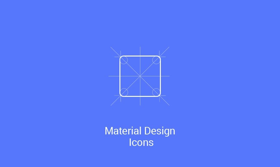Material Design Free Icons. New Forms of Visual Expression
