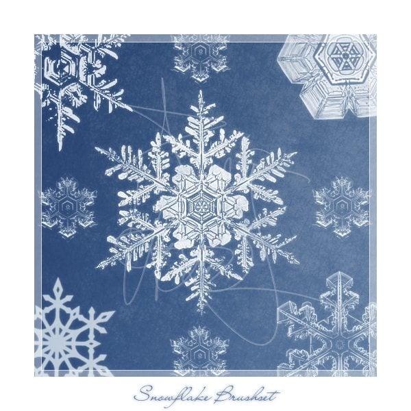 snowflake_brushes