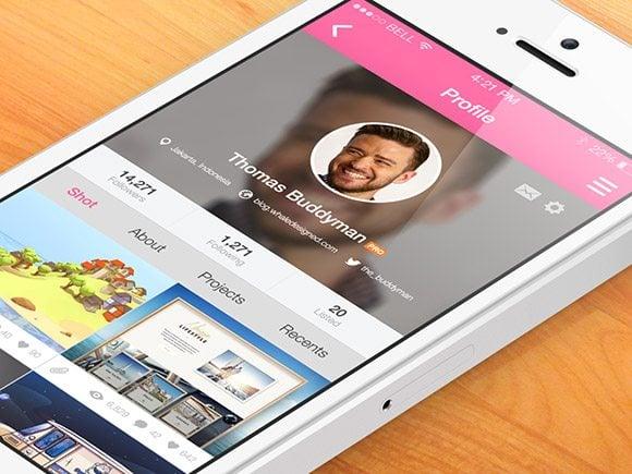 Dribbble- App