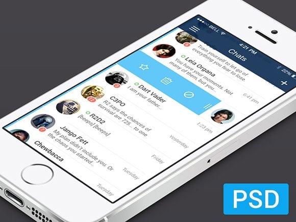 iOS7 Messenger App