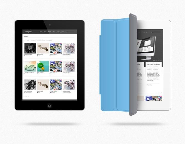 iPad PSD Freebie