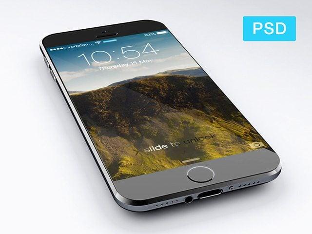 iPhone6 Free PSD