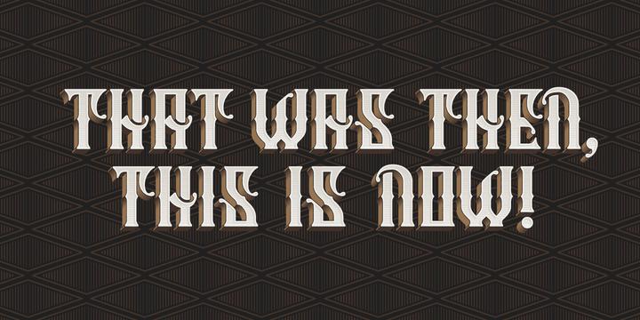 Column Typeface Font