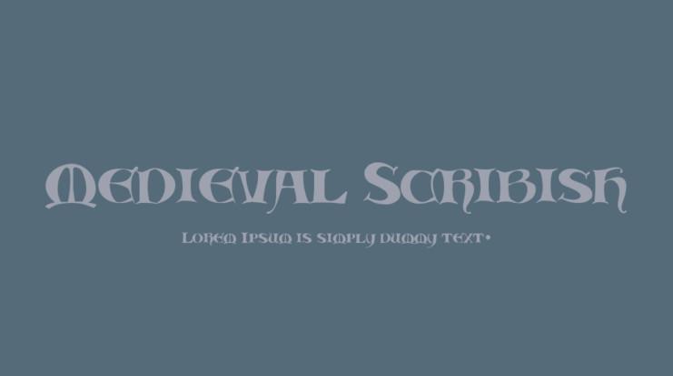 Medieval Fonts