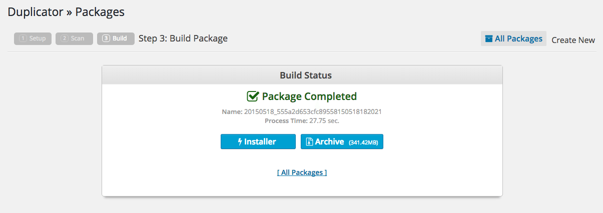 how to migrate a wordpress site to a new server
