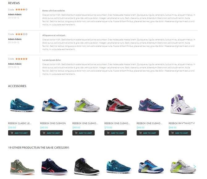 footwear and apparel special pre