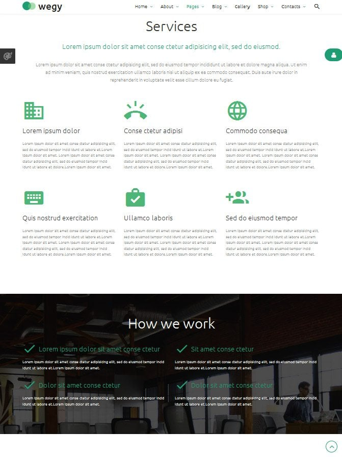 wegy joomla template update