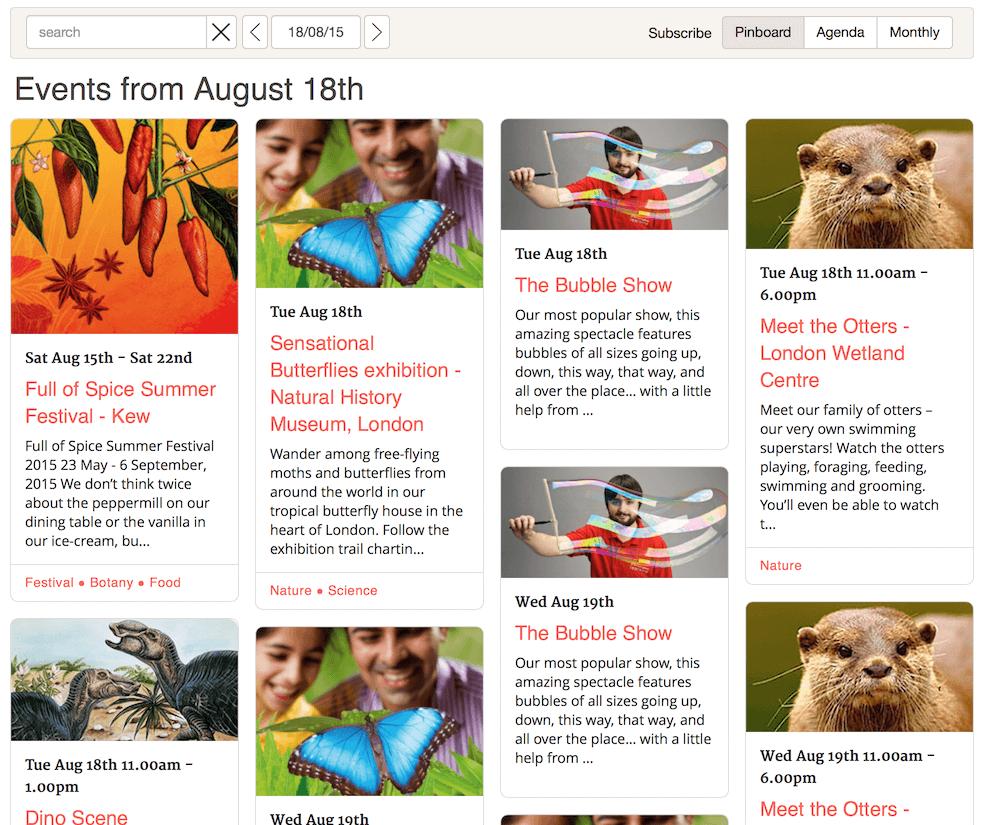 Tockify-Events-Calendar