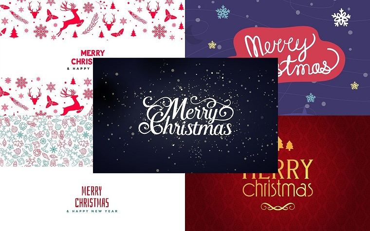 Free Christmas Collection Background