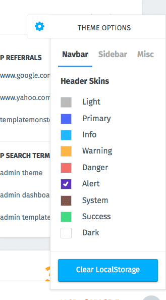 "Simple Bootstrap Dashboard Admin Template - ""MonsterAdmin"""