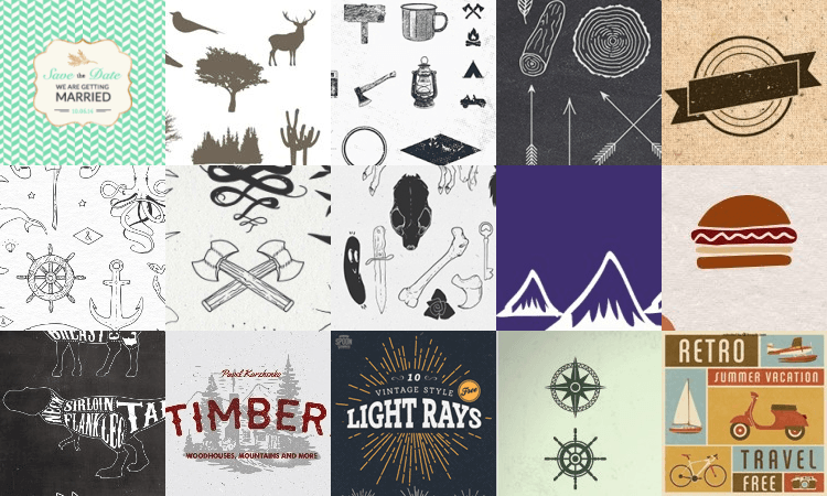 200+ Free Vintage Resources to Replenish your Design Toolbox