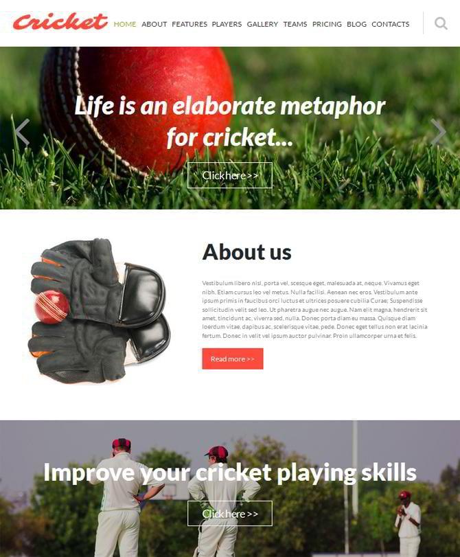 one-page Joomla templates