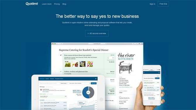 proposal and sales quoting software