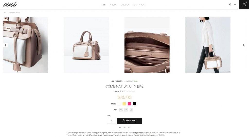 vini-unique-product-page