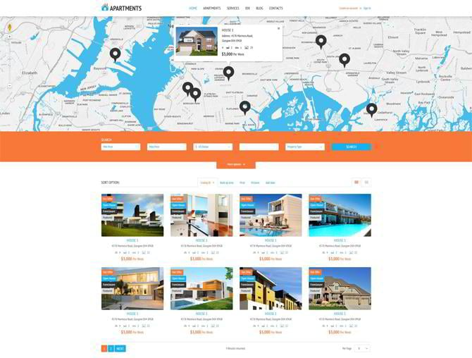 Apartments-Rent-Agency-WordPress-Theme