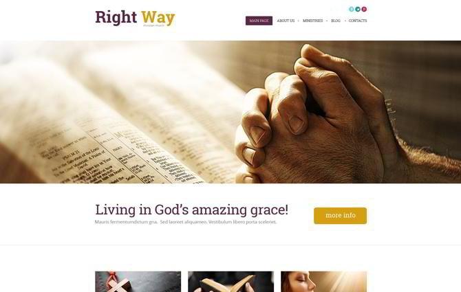 Religious-WordPress-Theme