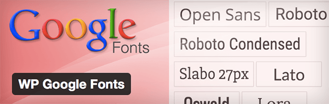 google-fonts-plugins