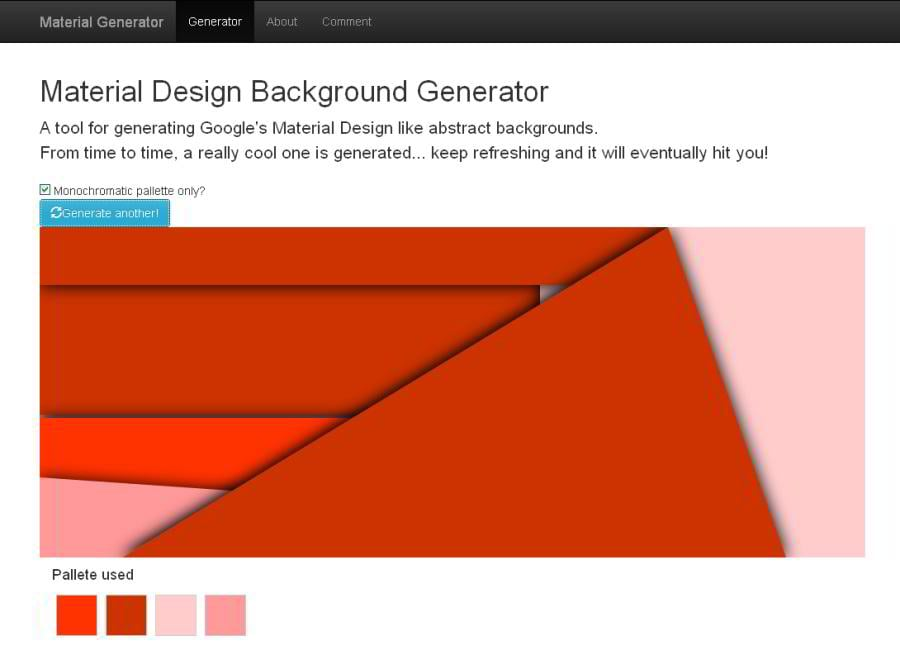 10+ Free 'Random Background Generators' for Graphic and Web Designers
