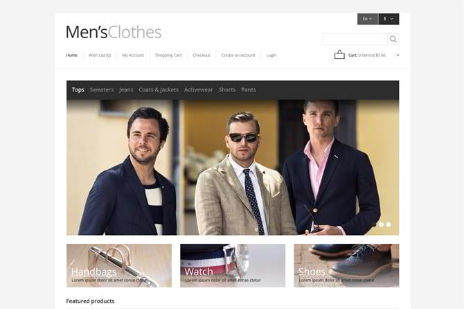Mens-Clothing-Store-OpenCart-Template