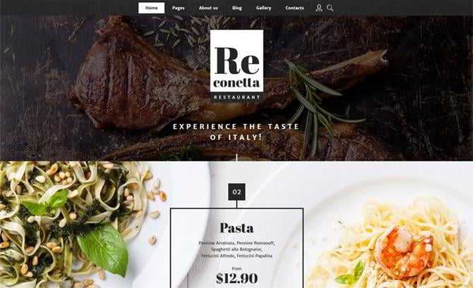 templates for BBQ and Grill restaurants