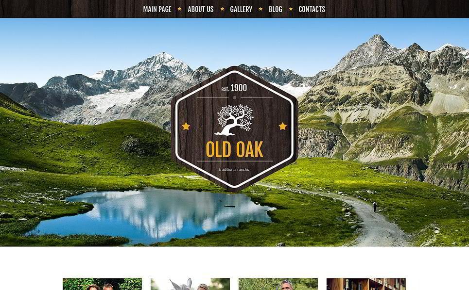 Favorable Ranch Location Travel WordPress Theme