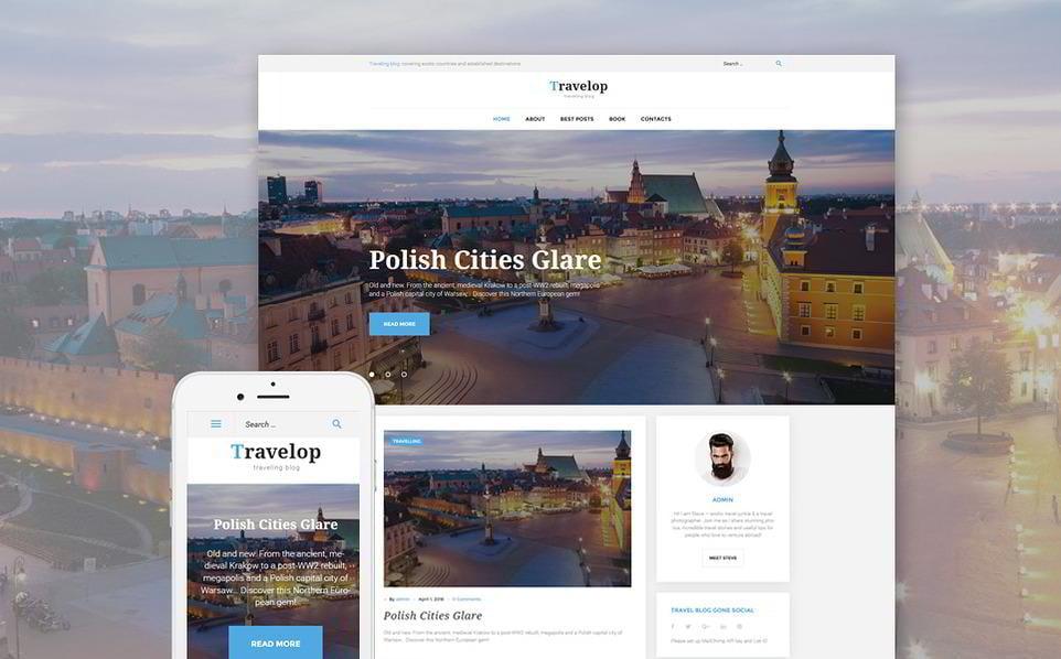 Travelop - Traveling Blog WordPress Theme