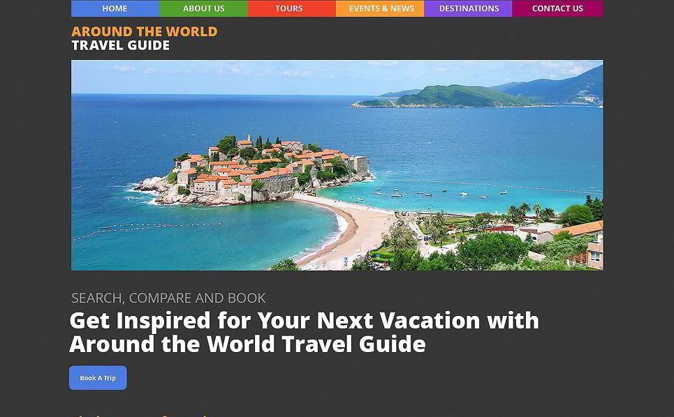 Around the World Travel Guide WordPress Theme