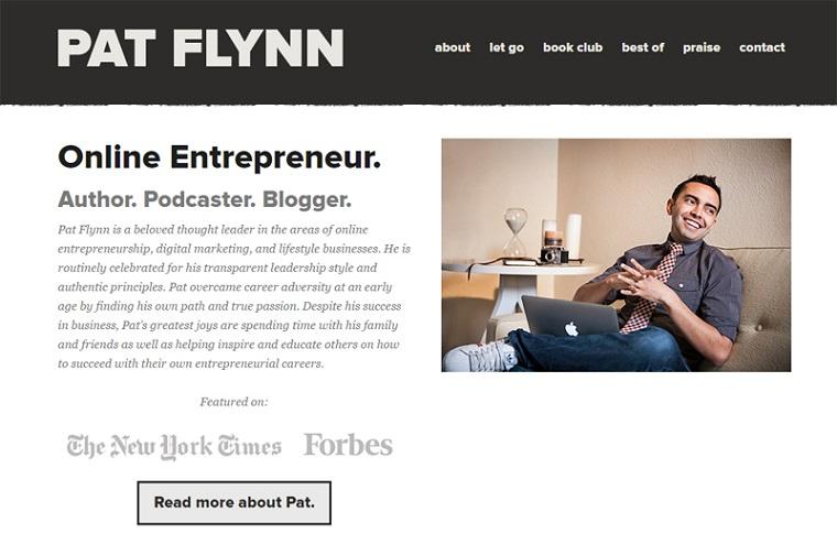 Pat Flynn.