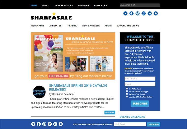 ShareASale Blog.