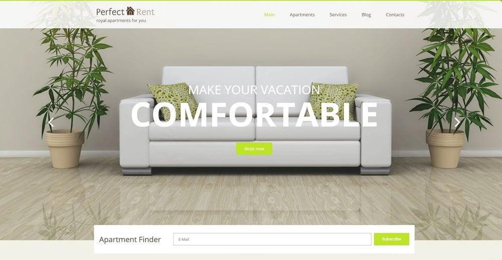 Perfect Rent WordPress Theme