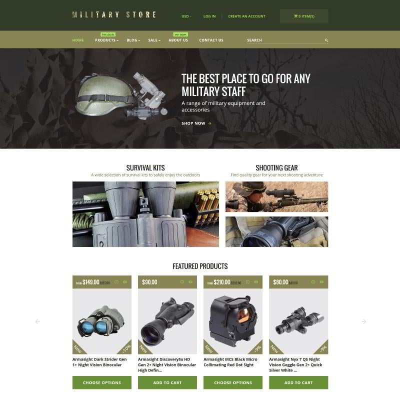 Have Fun with Guns: 15 Military and Hunting Templates for Business