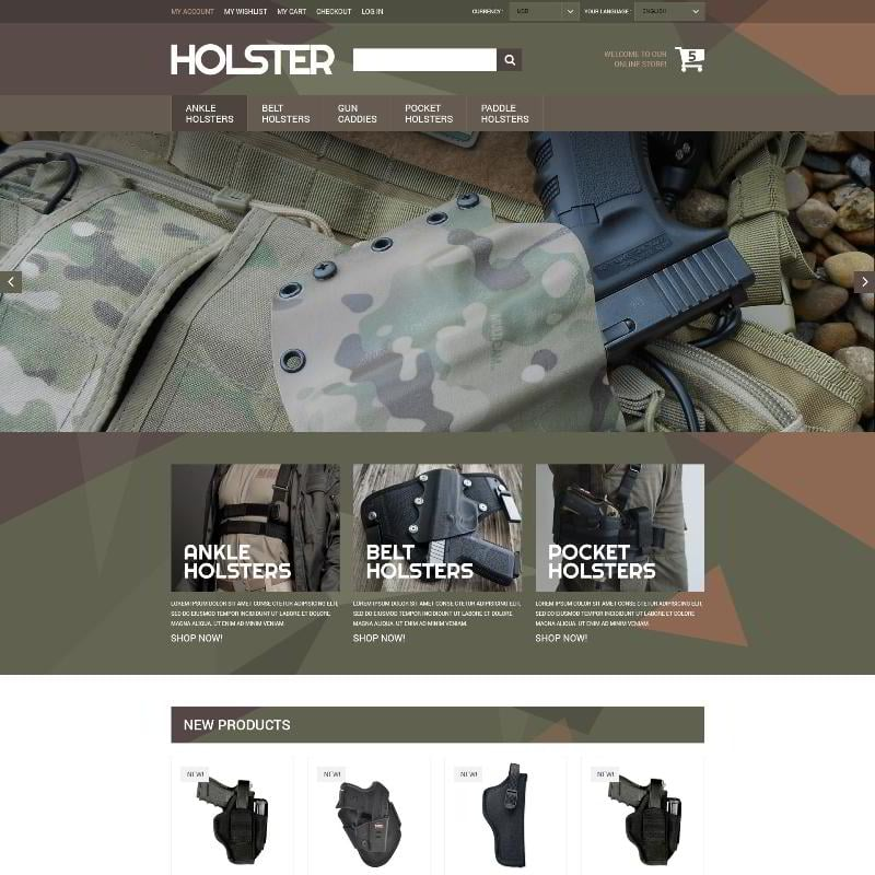 Secure Weapon Capture Magento Theme
