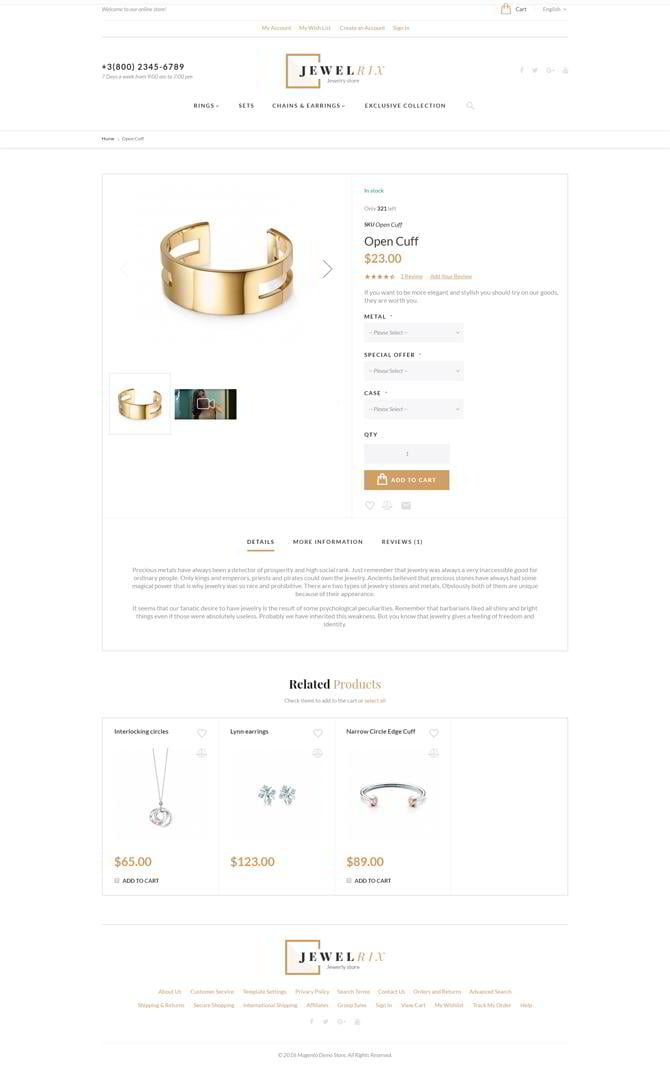 Jewelrix-product-page