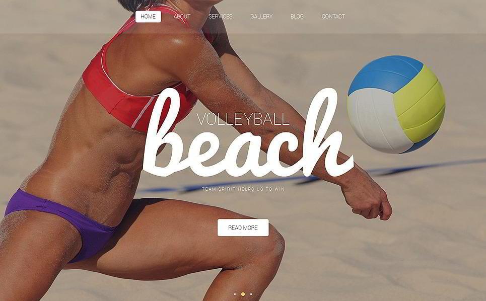 Volleyball Club WordPress Theme