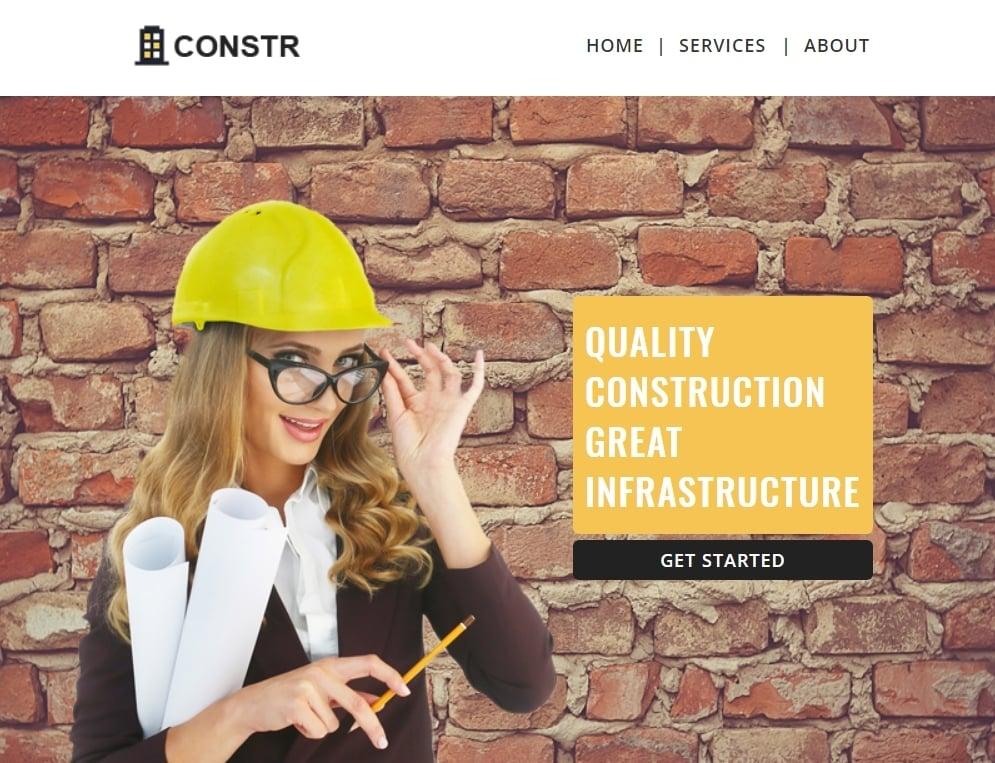 Construction - Multipurpose Responsive Newsletter Template