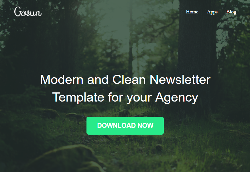 Gurun - Responsive Newsletter Template