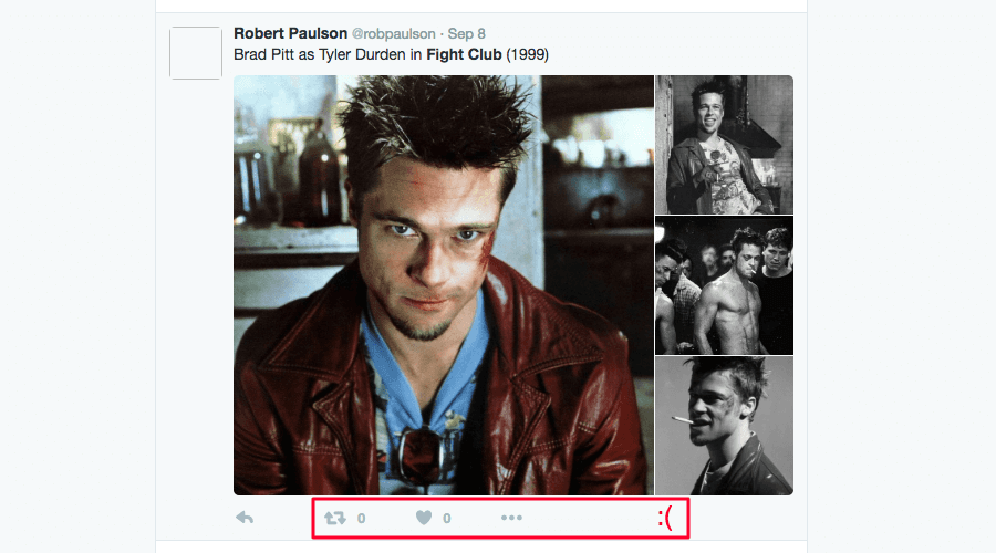 How to Gain 1000 Twitter Followers — a negative example