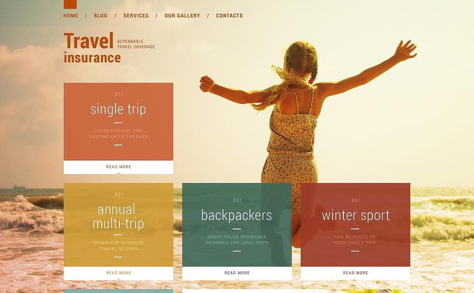 Vacation Security Travel WordPress Theme
