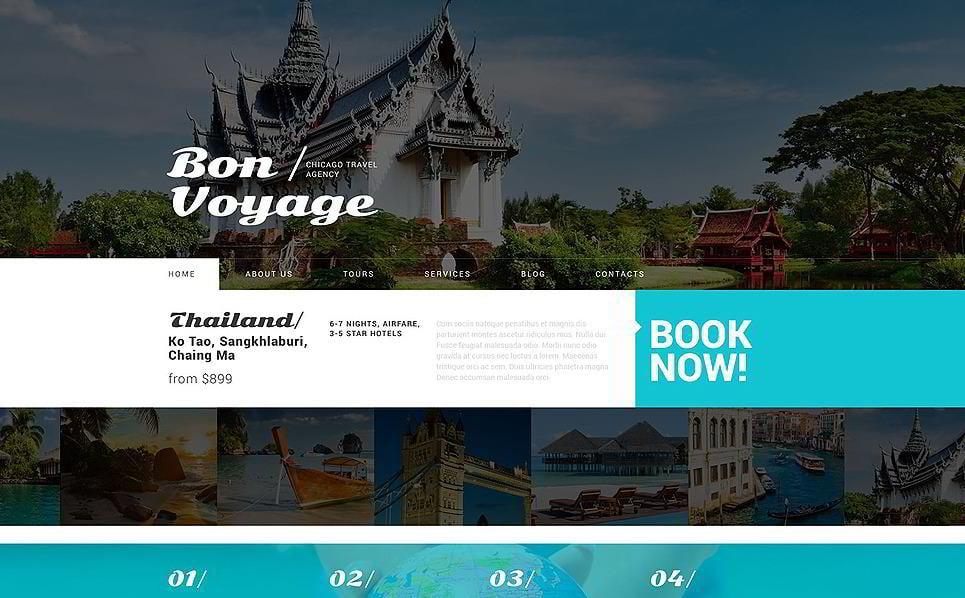 Tour Operator Services WordPress Theme
