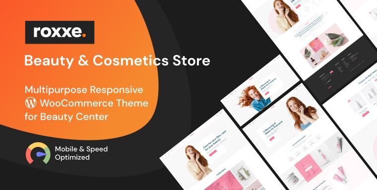 Roxxe - Beauty Salon WooCommerce Theme.