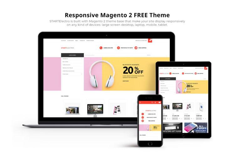 StartElectro - FREE eCommerce Magento Theme.