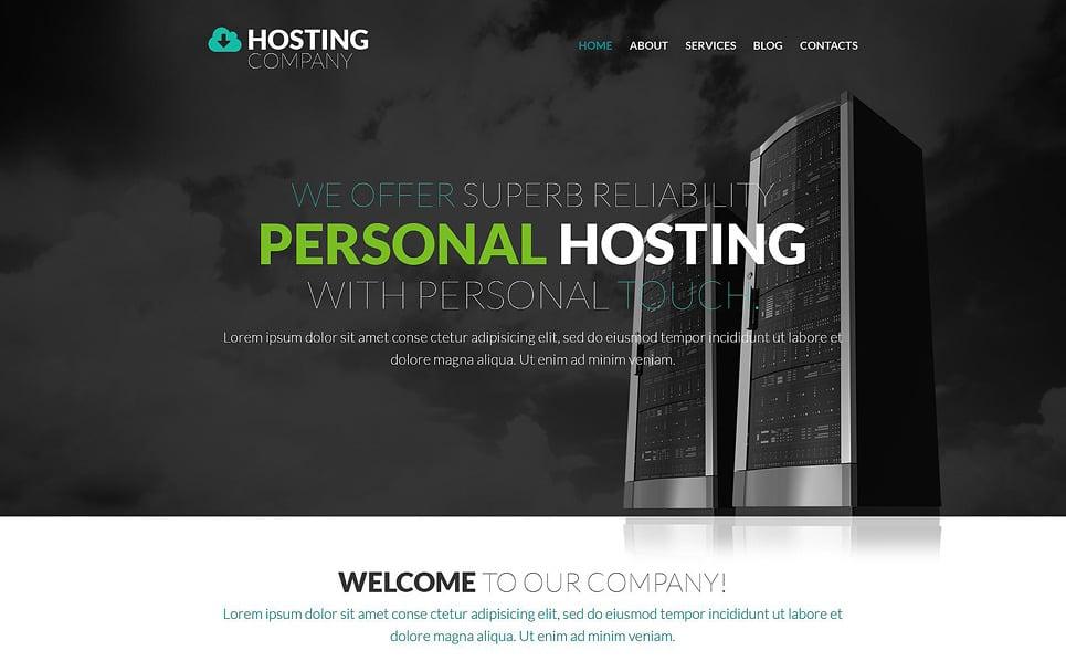 Hosting Provider WordPress Theme.