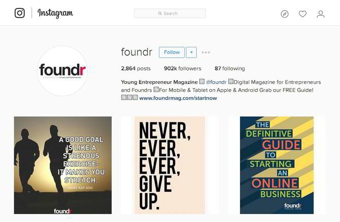 instagram business page promotion